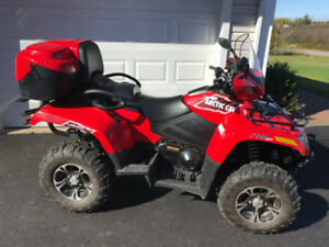 2015 ARCTIC CAT 700 TRV LEGAL 2 UP ATV  ( WE FINANCE )
