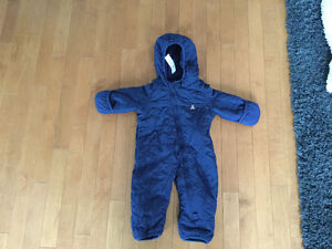 Boys 3-6 month old snowsuit
