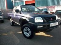 MITSUBISHI L200 EXTRA CAB DIESEL 4X4 ONE OWNER FULL HISTORY, LOW MILES(NOW SOLD)