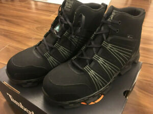 Timberland Pro Men's Powertrain Mid Safety work boot CSA size 13