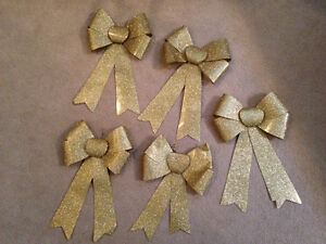 Gold bows for sale