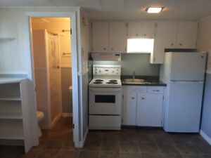 Bachelor apartment available now