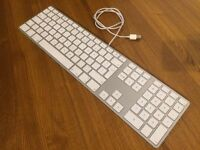 Apple full sized wired genuine keyboard