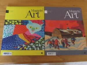Magasin' Art Revues  55 numéros