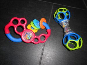 Lot de jouets d'éveil pour bébé