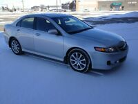 2006 Acura TSX 6 speed manual Sedan