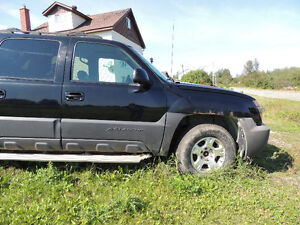 PARTING OUT 2003 CHEVROLET AVALANCHE SUD