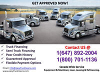 TRUCK LOANS MADE EASY -CALL 1 (800) 701 1136 or 647-892-2004