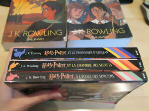 Harry Potter 1 2 3 (petit folio) 4 gros format