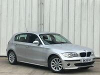 BMW 116 1.6 2006MY i ES 5 DOOR IN SILVER LOW MILES PX SWAP FINANCE AVAILABLE