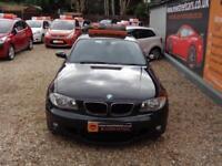BMW 1 SERIES 2.0 120D M SPORT 5dr Black Manual Diesel, 2007
