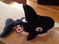 Orca dog costume (M) - New with tag