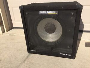 "Hartke 15"" XL Series Bass cabinet in good condition  London Ontario image 1"