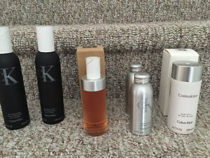 New! Assorted Calvin Klein perfume and lotions