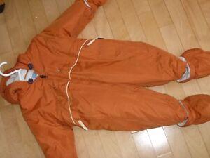 habit neige gusti 18 mois orange brûlé