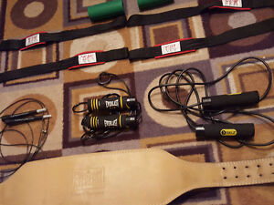 Weight Lifting BeltsSkip Ropes, Lifting Straps Ab Roller