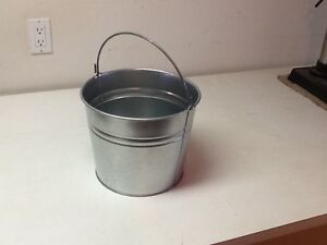 Galvanized Beer Pail with Handle - LCBO Kitchener / Waterloo Kitchener Area image 1