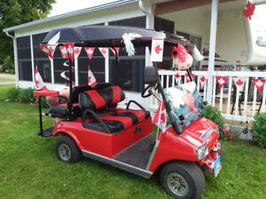 Club Car Golf Cart 2002