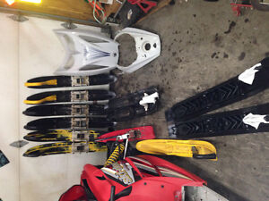 Ski-doo parts for sale rev & zx --will ship anywhere