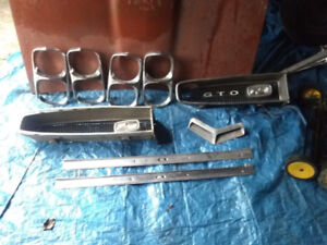 Parts for GTO 1965 1966 and 1967