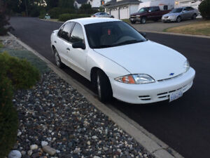 2002 Chevrolet Cavalier LS Sedan w/ 2 sets of tires