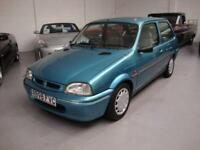 Rover 111 1.1 Ascot SE, 1997, Blue Metallic, ONLY 43000 MILES, 'RETRO CLASSIC'