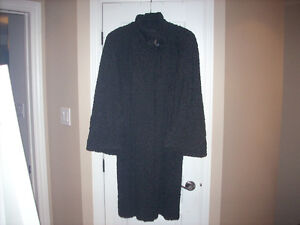 EXQUISITE PERSIAN LAMB COAT FOR SALE