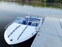 18ft Tempest 120hp Mercruiser I/O