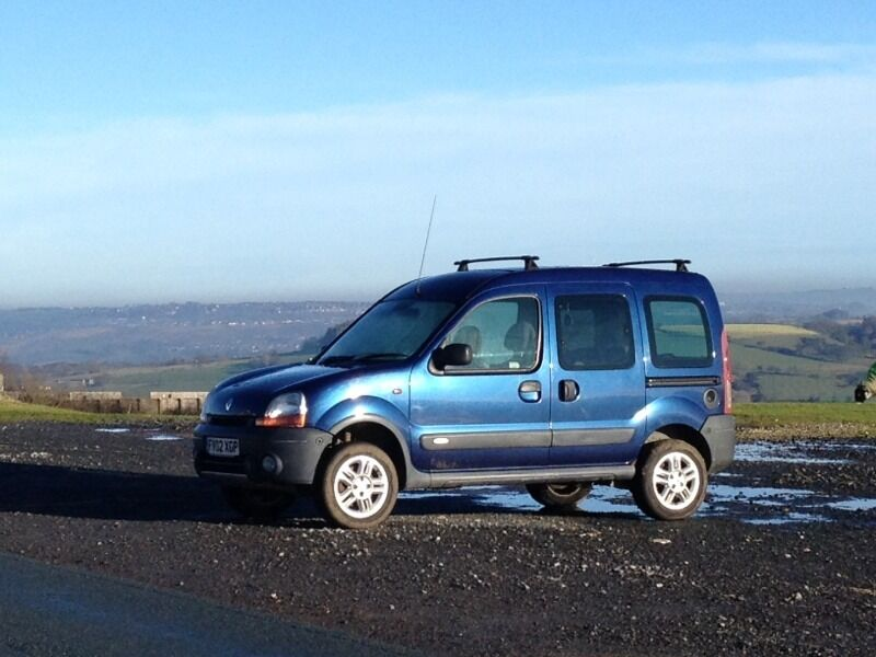 renault kangoo trekker 4x4 camper in consett county durham gumtree. Black Bedroom Furniture Sets. Home Design Ideas