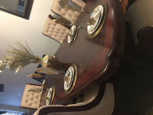 Sofa and dinning table set (moving sale)