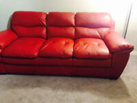 Beautiful Red Couch needs a home!!!