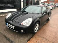 Toyota MR2 1.8 VVT-i Roadster 2dr Petrol Manual Black, 2 OWNERS ONLY