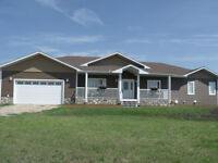 Acreage for Sale - Ranch Style House With walkout basement