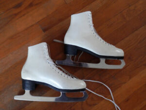 2 pairs of good quality women's figure skates (size 8)