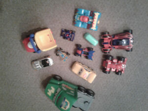11  toy cars