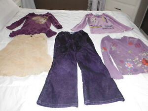Lot vêtements fille 6-7 ans