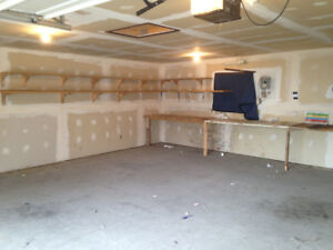Heated Double Garage for Rent