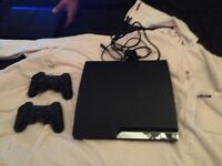 PS3 with 2 controls £60