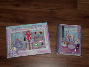 JOURNAL INTIME / DIARY KIT  *NEUFS-NEW* *$10 CHACUN*