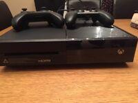 X box one console