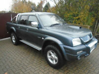 2005 Mitsubishi L200 2.5TD Animal NO VAT 82000 Miles