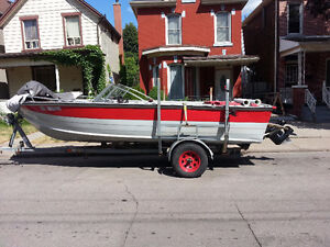 18' Starcraft Aluminum 140HP I/O with Trailer 3000.00 OBO