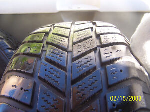 Set of 4 Steel winter rims with tires Cornwall Ontario image 4