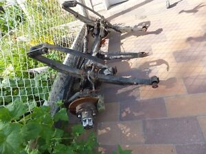 Axles from 1986 Toyota Land Cruiser 4x4 Front & Rear Heavy Duty Moose Jaw Regina Area image 2