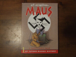 Maus Vol 1 & 2 - graphic novel