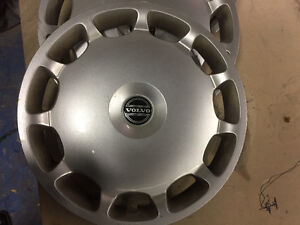 16''VOLVO OEM STEEL WHEEL CAPS X4