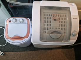 Mini washer and large dryer portable