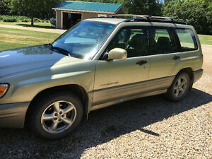 2001 Subaru Forester Hatchback