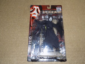 MOVIE MANIACS 2, GHOST FACE, SCREAM, ACTION FIGURE, NEAR MINT