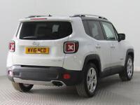2016 Jeep Renegade 1.4 Multiair Limited 5dr Petrol white Manual